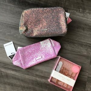 Skinny Dip London Makeup Bag Manicure Set Gift Lot